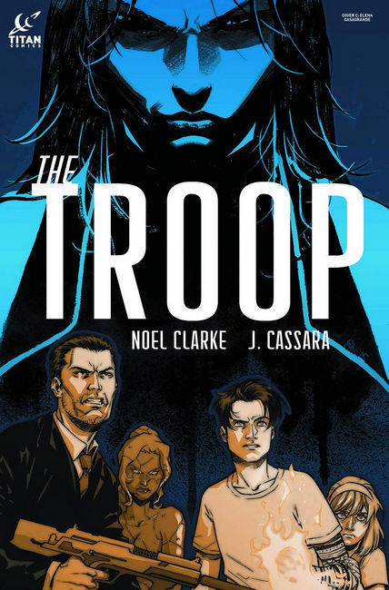 The Troop #1 Subscription Cover [Titan Comic]