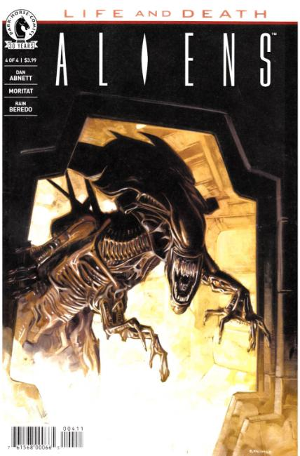 Aliens Life and Death #4 [Dark Horse Comic]