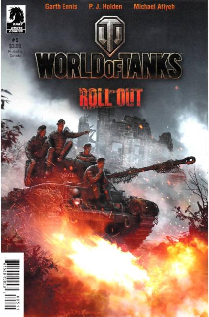 World of Tanks #5 [Dark Horse Comic] THUMBNAIL