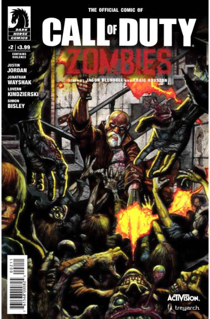 Call of Duty Zombies #2 [Dark Horse Comic] THUMBNAIL