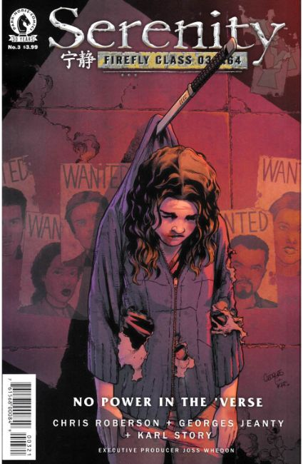 Serenity No Power in the Verse #3 Jeanty Variant Cover [Dark Horse Comic] THUMBNAIL