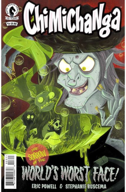 Chimichanga Sorrow of Worlds Worst Face #3 [Dark Horse Comic] LARGE