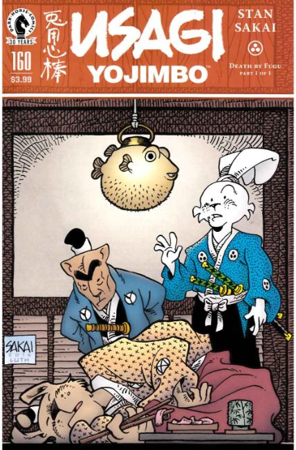Usagi Yojimbo #160 [Dark Horse Comic] THUMBNAIL