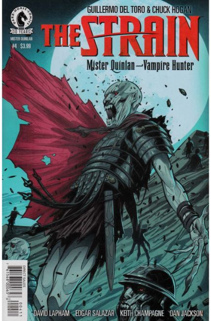 Strain Mr Quinlan Vampire Hunter #4 [Dark Horse Comic] THUMBNAIL