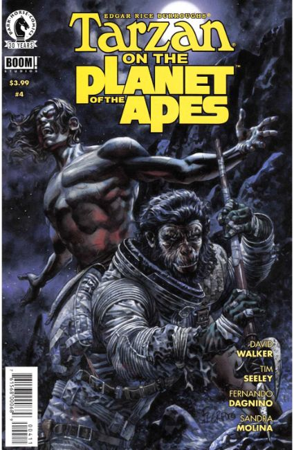 Tarzan on the Planet of the Apes #4 [Dark Horse Comic] THUMBNAIL
