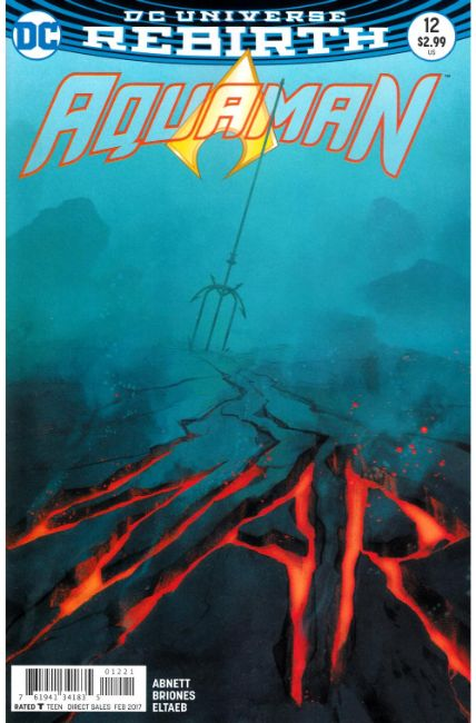 Aquaman #12 Middleton Variant Cover [DC Comic] THUMBNAIL