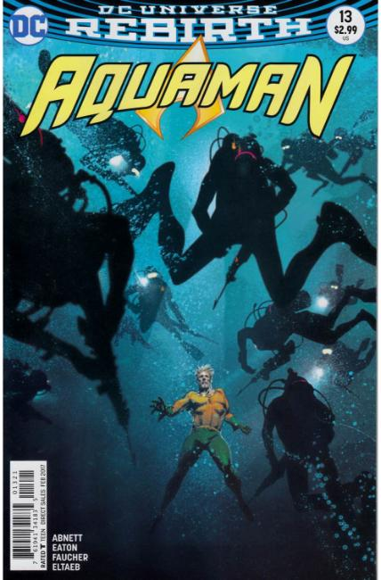 Aquaman #13 Middleton Variant Cover [DC Comic] THUMBNAIL