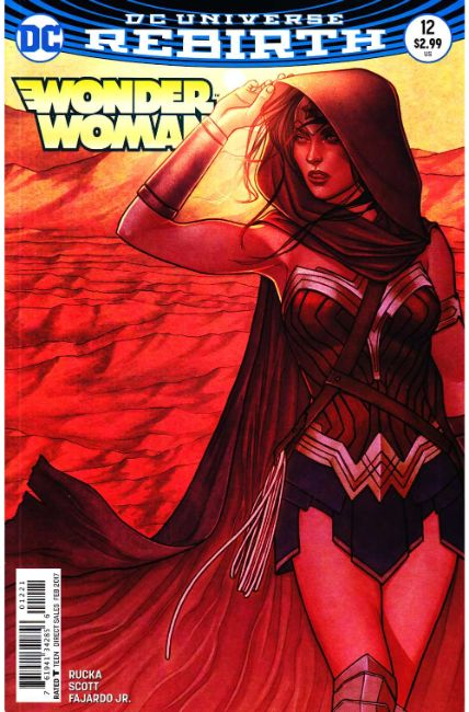Wonder Woman #12 Frison Variant Cover [DC Comic] LARGE
