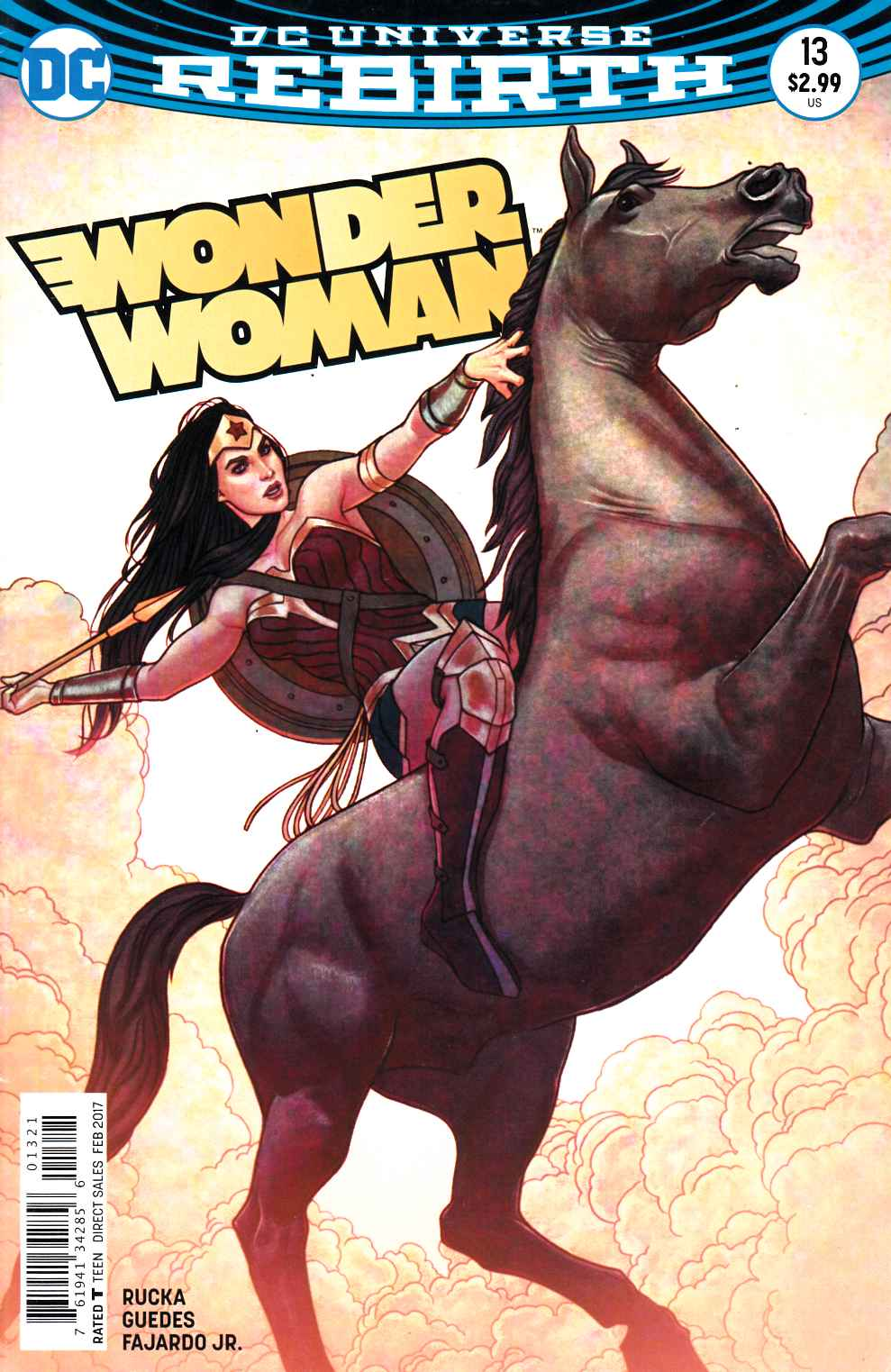 Wonder Woman #13 Frison Variant Cover Fine (6.0) [DC Comic] LARGE