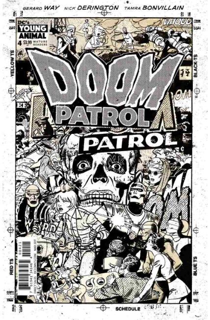 Doom Patrol 4 Rentler Variant Cover Dc Comic Dreamlandcomics