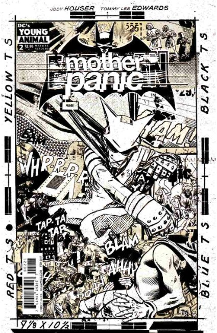 Mother Panic #2 Rentler Variant Cover [DC Comic] THUMBNAIL