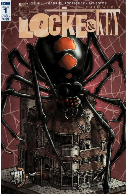 Locke & Key Small World (One Shot) Subscription Cover A [IDW Comic] THUMBNAIL