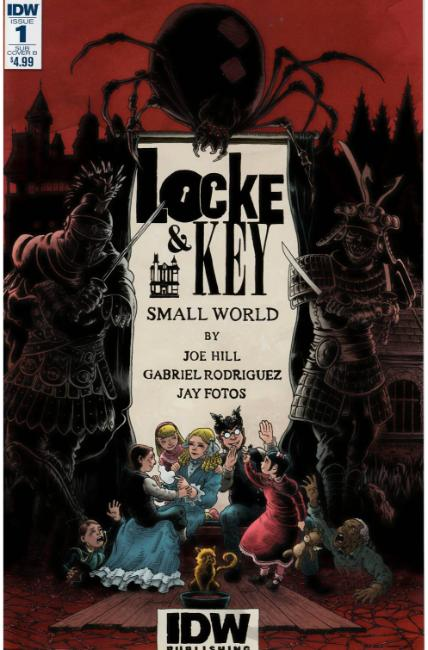 Locke & Key Small World (One Shot) Subscription Cover B [IDW Comic] THUMBNAIL
