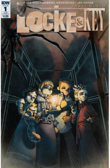 Locke & Key Small World (One Shot) Subscription Cover C [IDW Comic] THUMBNAIL