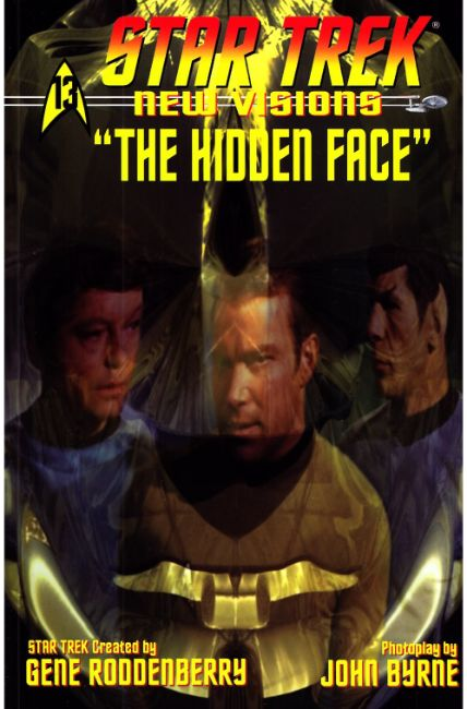 Star Trek New Visions Special Hidden Face [IDW Comic] THUMBNAIL
