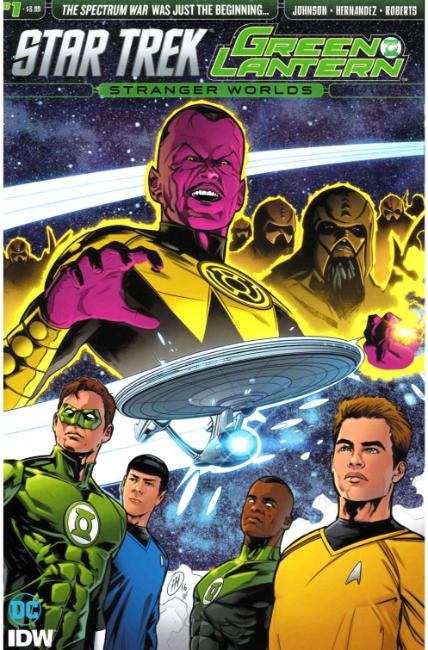 Star Trek Green Lantern Vol 2 #1 [IDW Comic] THUMBNAIL