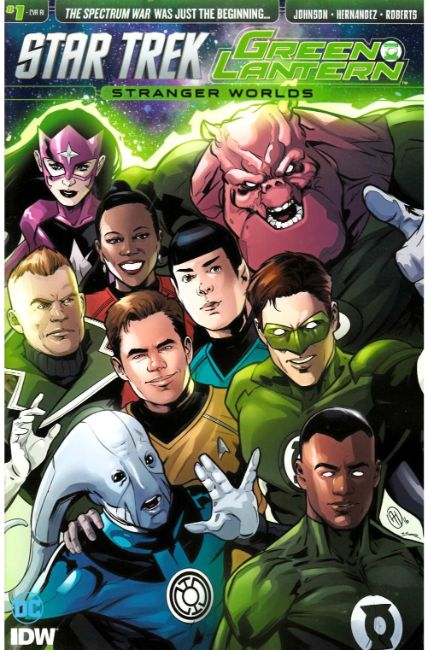 Star Trek Green Lantern Vol 2 #1 Cover RI [IDW Comic] LARGE