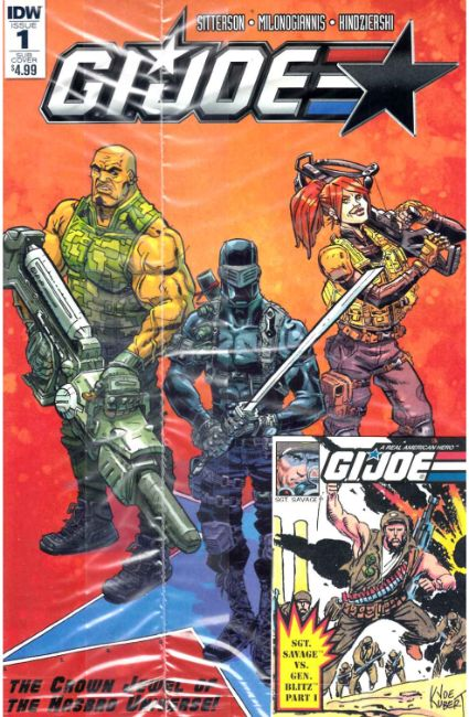 GI Joe (2016) #1 Micro Comic Edition [IDW Comic]