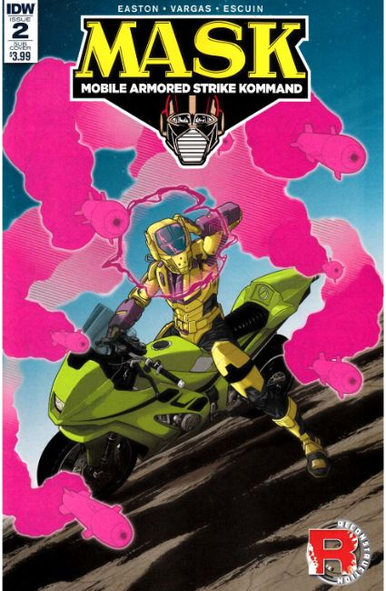 MASK Mobile Armored Strike Kommand #2 Subscription Cover B [IDW Comic] LARGE