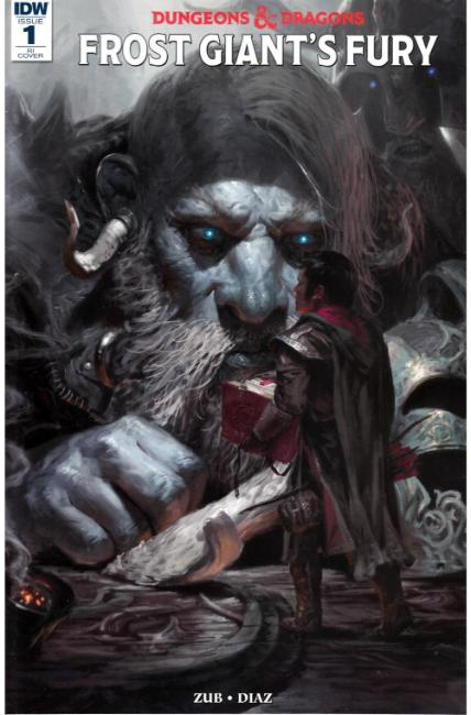 Dungeons & Dragons Frost Giants Fury #1 Cover RI [IDW Comic] THUMBNAIL