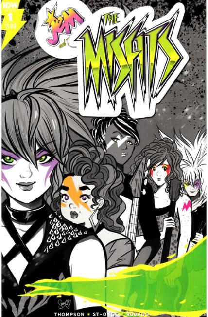 Jem the Misfits #1 [IDW Comic]