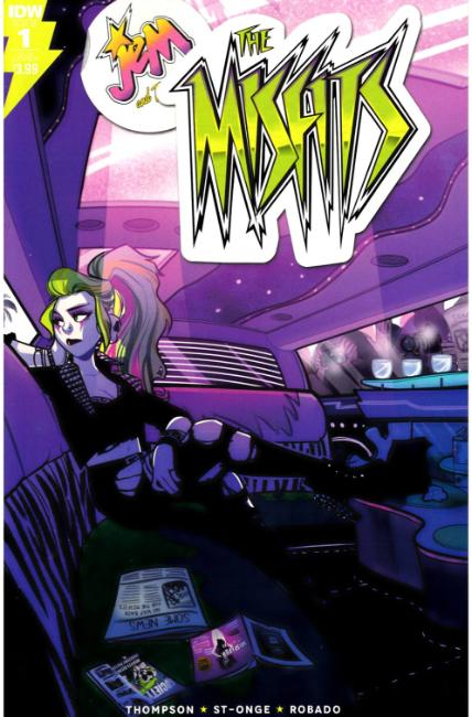 Jem the Misfits #1 Subscription Cover [IDW Comic] THUMBNAIL