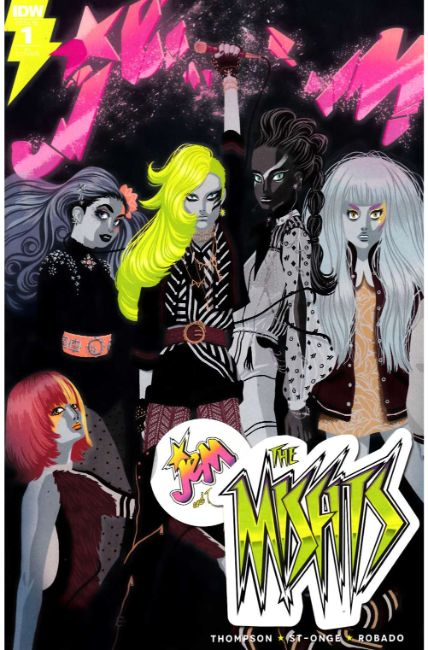 Jem the Misfits #1 Cover RI [IDW Comic]