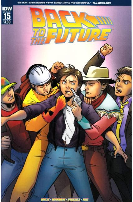Back to the Future #15 [IDW Comic] THUMBNAIL
