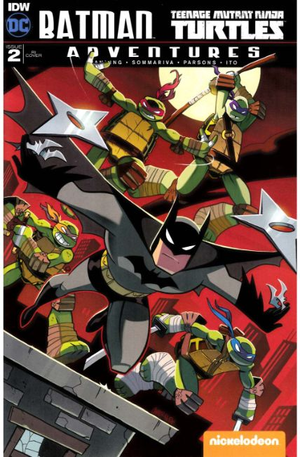 Batman TMNT Adventures #2 Cover RI [IDW Comic]