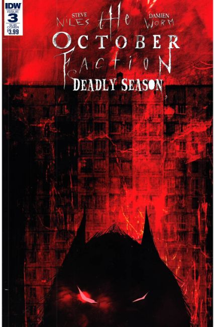 October Faction Deadly Season #3 Subscription Cover [IDW Comic] THUMBNAIL