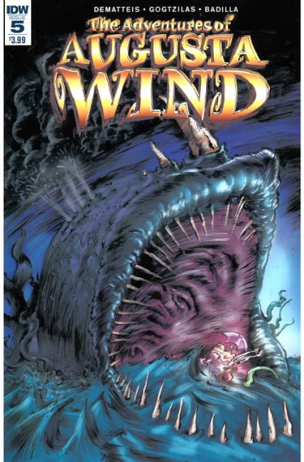 Adventures of Augusta Wind Last Story #5 [IDW Comic] LARGE