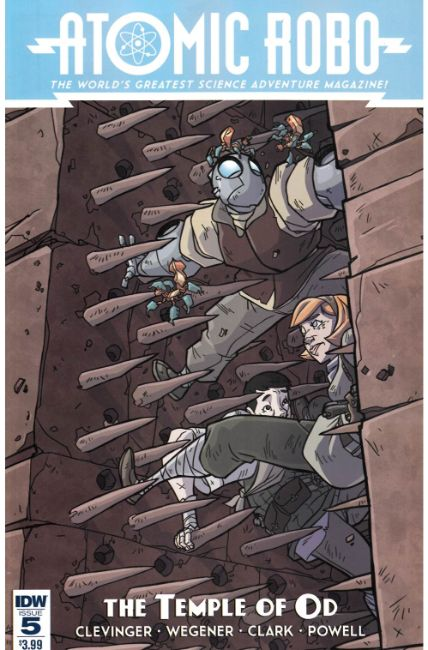 Atomic Robo and the Temple of Od #5 [IDW Comic] THUMBNAIL