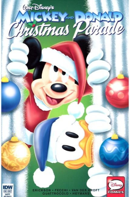 Mickey & Donald Christmas Parade #2 [IDW Comic] LARGE