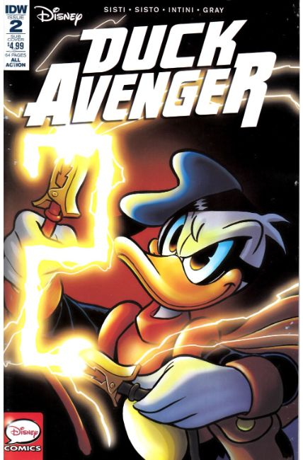 Duck Avenger #2 Subscription Cover [IDW Comic] THUMBNAIL