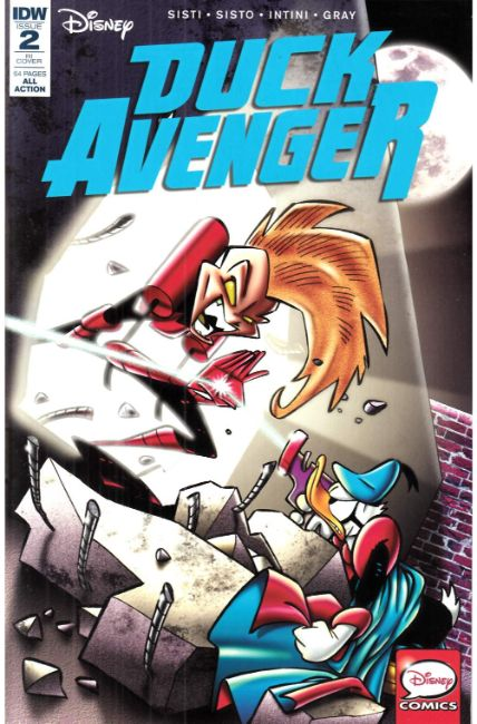 Duck Avenger #2 Cover RI [IDW Comic]