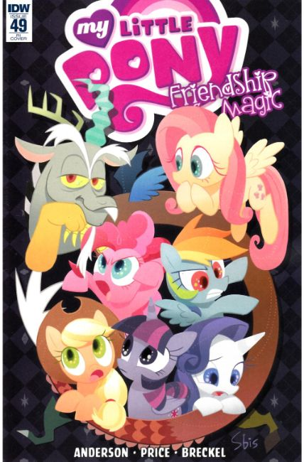 My Little Pony Friendship Is Magic #49 Cover RI [IDW Comic] THUMBNAIL