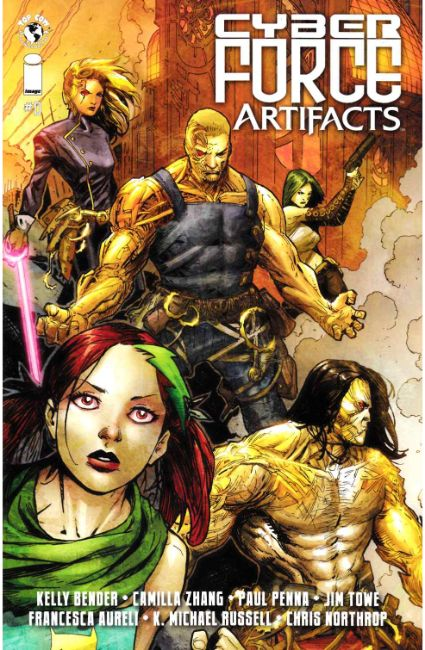 Cyberforce Artifacts #0 [Image Comic] THUMBNAIL