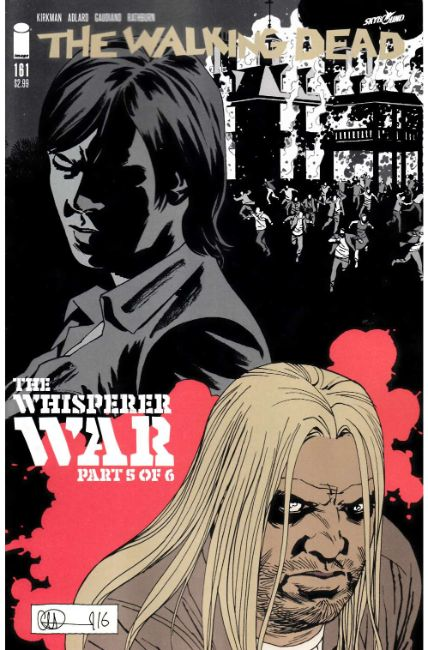 Walking Dead #161 Cover A [Image Comic] LARGE