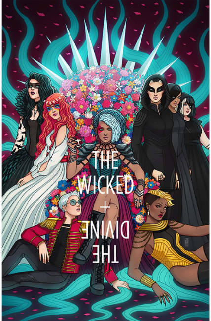 Wicked & Divine #24 Cover B [Image Comic] LARGE
