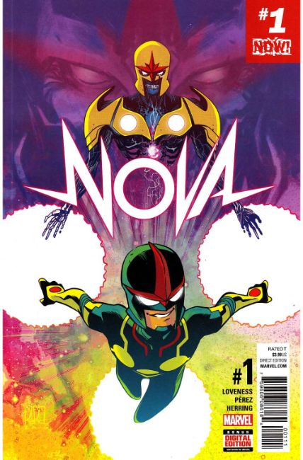 Nova #1 [Marvel Comic] THUMBNAIL