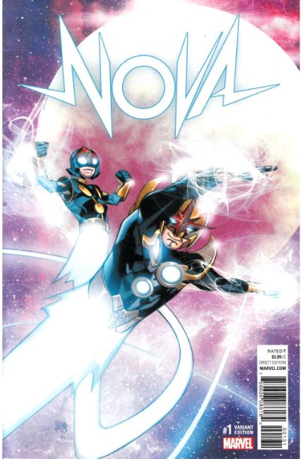 Nova #1 Ferry Variant Cover [Marvel Comic] THUMBNAIL