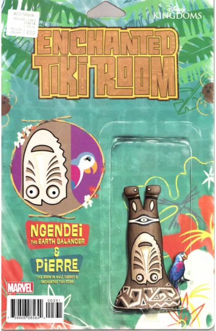 Enchanted Tiki Room #3 Christopher Action Figure Variant Cover [Marvel Comic] THUMBNAIL