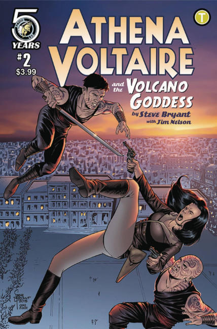 Athena Voltaire and the Volcano Goddess #2 Cover A [Action Lab Comic] THUMBNAIL