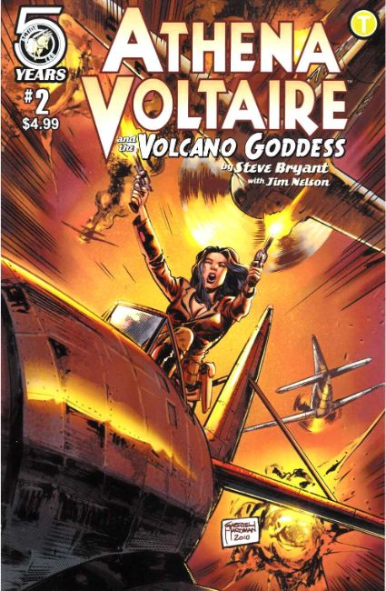 Athena Voltaire and the Volcano Goddess #2 Cover B [Action Lab Comic] THUMBNAIL