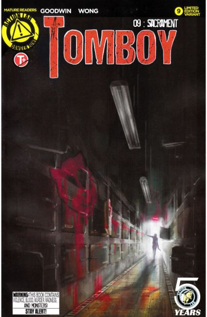 Tomboy #9 Cover B [Action Lab Comic] THUMBNAIL