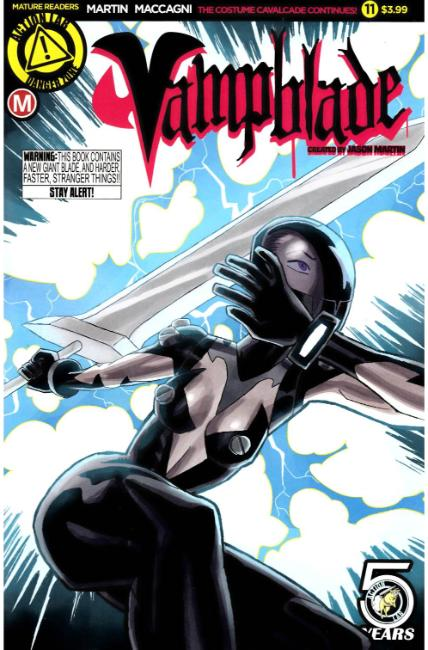 Vampblade #11 Cover A [Danger Zone Comic] LARGE