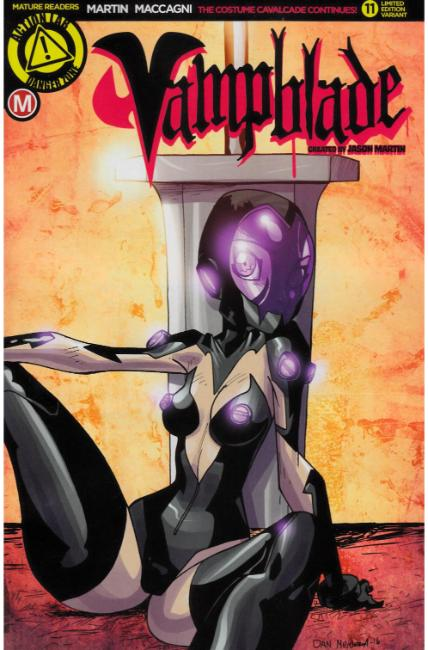 Vampblade #11 Cover C- Mendoza [Danger Zone Comic] LARGE
