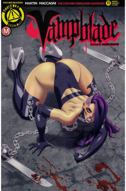 Vampblade #11 Cover E- Fischer [Danger Zone Comic] LARGE