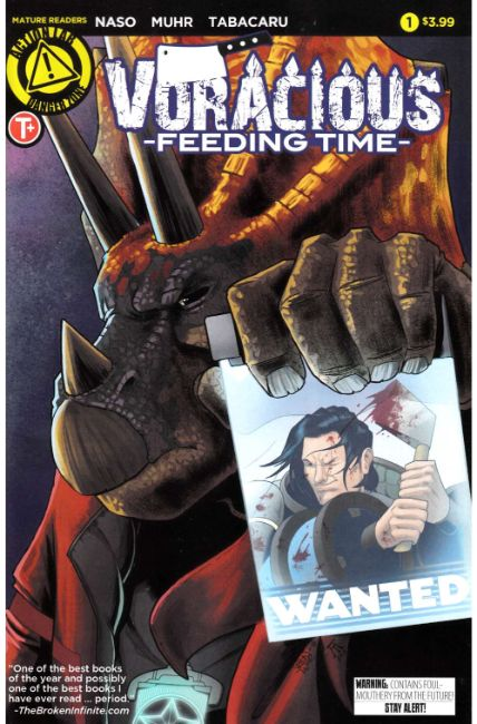 Voracious Feeding Time #1 Cover A [Action Lab Comic] LARGE