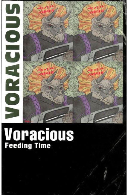 Voracious Feeding Time #1 Cover B [Action Lab Comic] LARGE